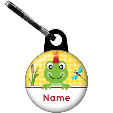 Frog Pond Fun Personalized Zipper Pull (Each)