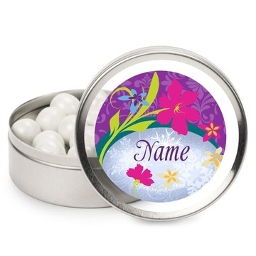 Frozen Personalized Candy Tins (12 Pack)