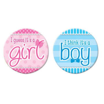 Gender Reveal Buttons (12)
