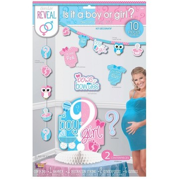 Gender Reveal Decorating Kit (10)