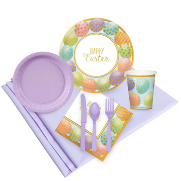 Golden Easter Party Pack (24)