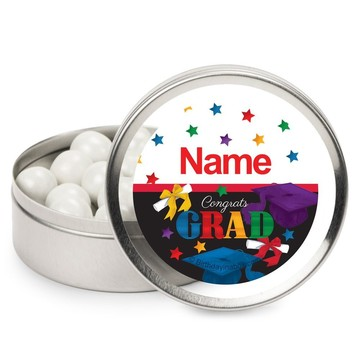 Grad Spirit Personalized Mint Tins (12 Pack)
