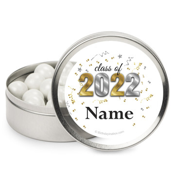 Graduation Year Personalized Mint Tins (12 Pack)