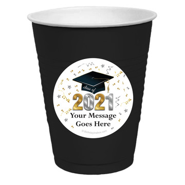 Graduation Year Personalized Party Cups, 50ct