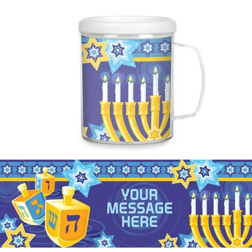 Hanukkah Personalized Favor Mug (Each)