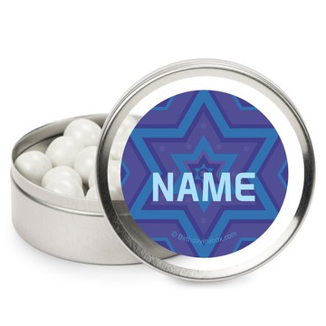 Hanukkah Personalized Mint Tins (12 Pack)