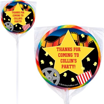 Hollywood Personalized Lollipop