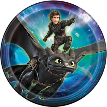 """How to Train Your Dragon 9"""" Plate (8)"""