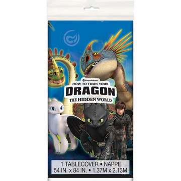 How to Train Your Dragon Plastic Table Cover (1)