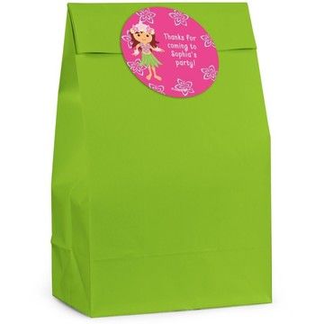 Hula Girl Personalized Favor Bag (Set Of 12)