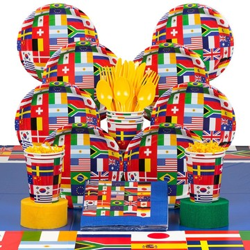 International Party Deluxe Kit (Serves 8)