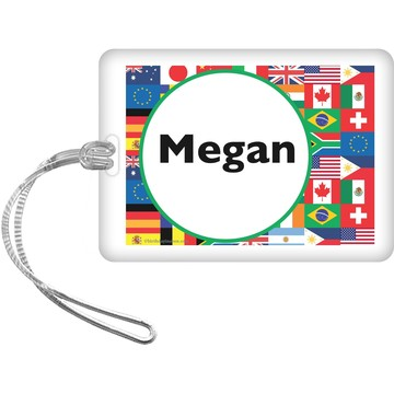 International Personalized Bag Tag (each)