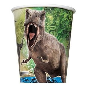 Jurassic World 9oz Cups (8 Pack)
