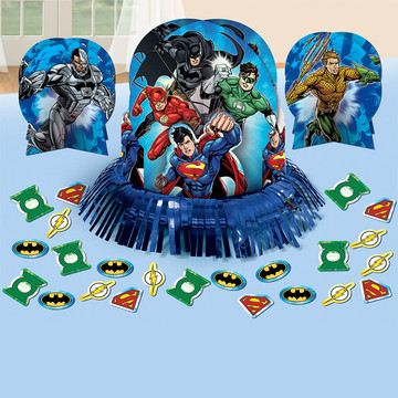 Justice League Table Decorating Kit (Each)