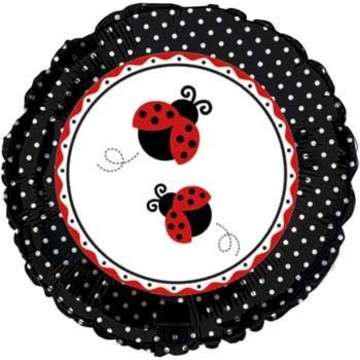 Ladybug Party Mylar Balloon (each)
