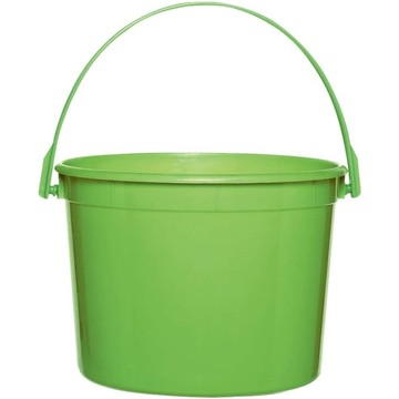 Lime Plastic Bucket