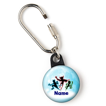 "Masked Heroes Personalized 1"" Carabiner (Each)"