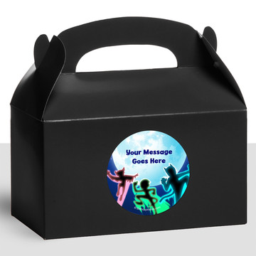 Masked Heroes Personalized Treat Favor Boxes (12 Count)
