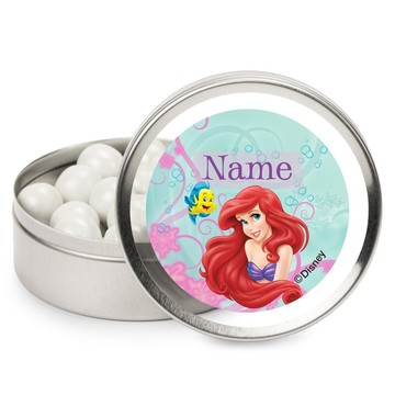 Mermaid Personalized Candy Tins (12 Pack)
