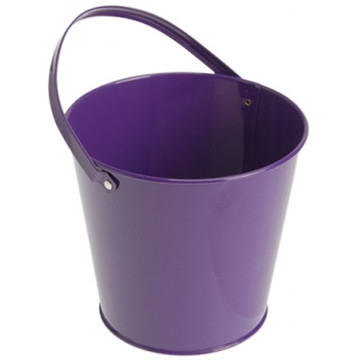 Metal Bucket - Purple (6)