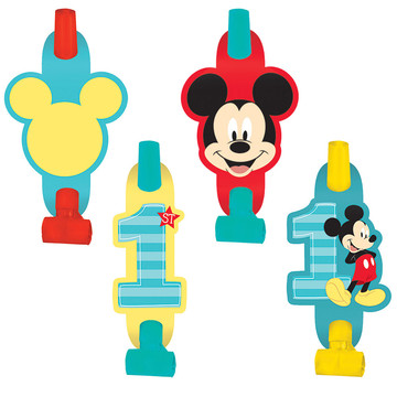 Mickey's Fun To Be One Blowouts (8 Count)