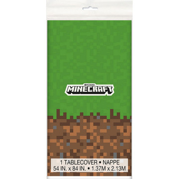 Minecraft Plastic Table Cover (1)