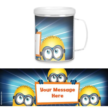 Minion Plastic Personalized Favor Mugs (Each)