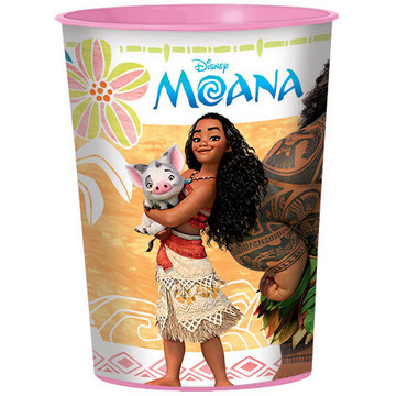 Moana 16oz Plastic Favor Cup (Each)