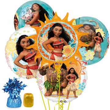 Moana Deluxe Balloon Bouquet Kit