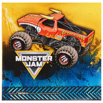 Monster Jam Lunch Napkins (20)