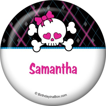 Monster School Personalized Button (each)