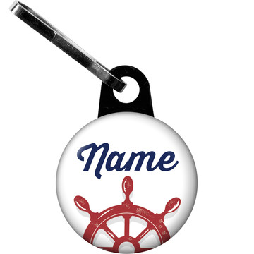 Nautical Personalized Zipper Pull (Each)