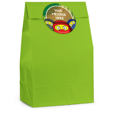 Ninja Master Personalized Favor Bag (12 Pack)