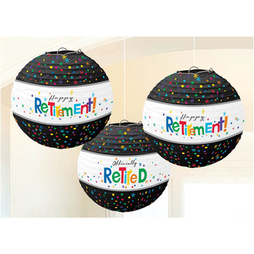 Officially Retired Paper Lanterns (3 Count)