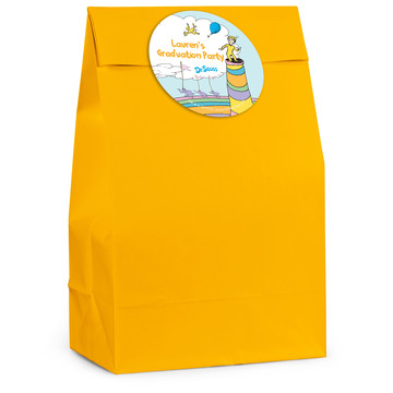 Oh The Places You'll Go Personalized Favor Bag (12 Pack)