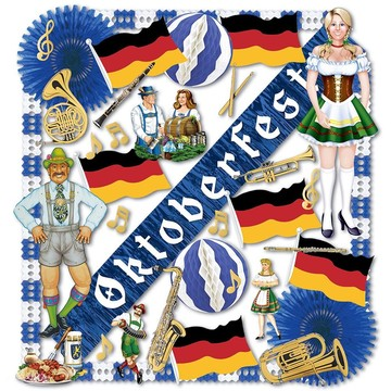 Oktoberfest Decoration Kit (36 Pack)
