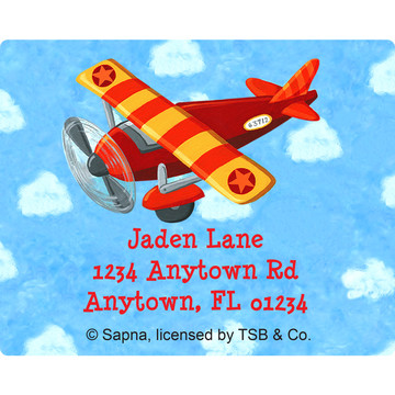 On the Go Personalized Address Labels (Sheet of 15)
