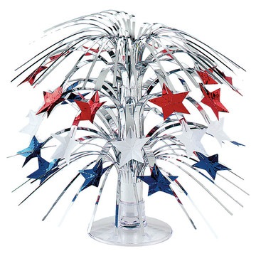 Patriotic Star Cascade Centerpiece (Each)
