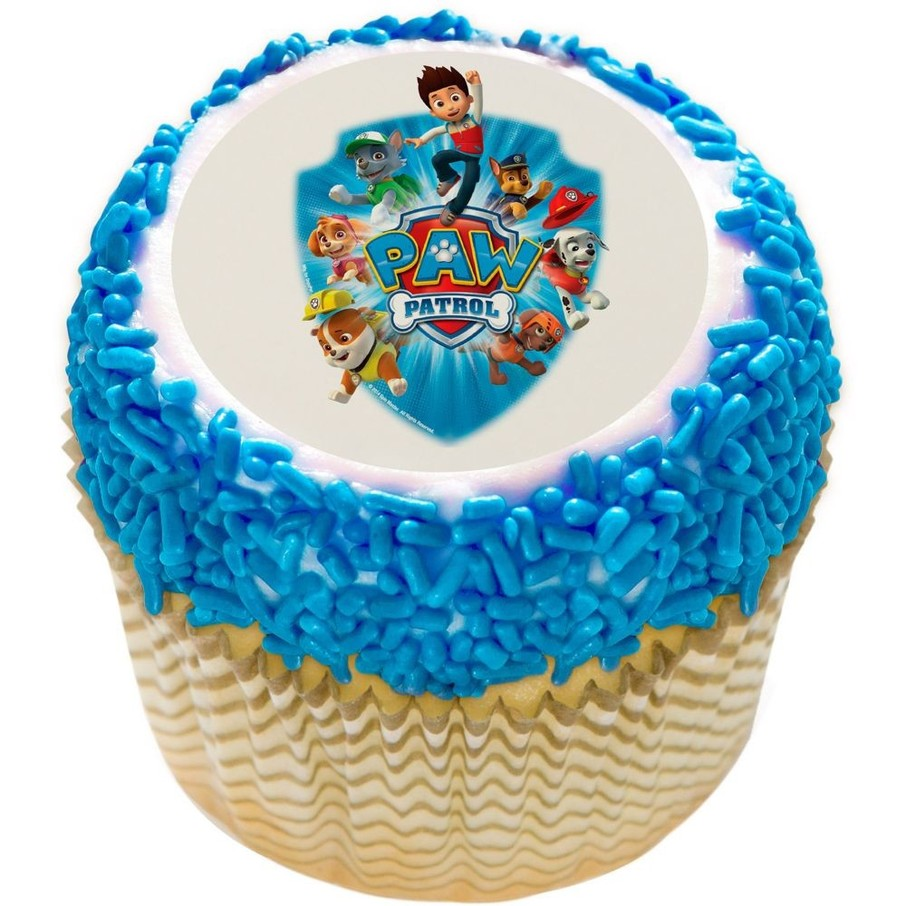 Edible Cake Decorations Paw Patrol : Paw Patrol 2 Edible Cupcake Topper - Discount ...