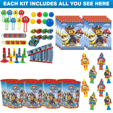 Paw Patrol Favor Kit (For 8 Guests)