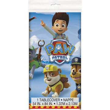 Paw Patrol Plastic Table Cover (Each)