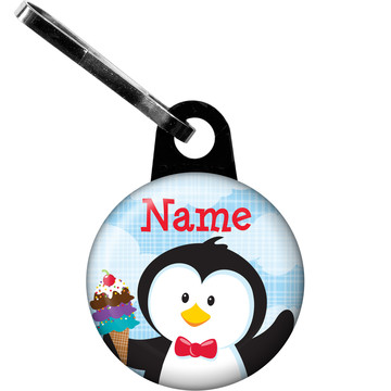 Penguin Personalized Zipper Pull (Each)
