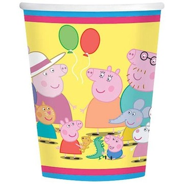 Peppa Pig 9oz Cups (8 Pack)