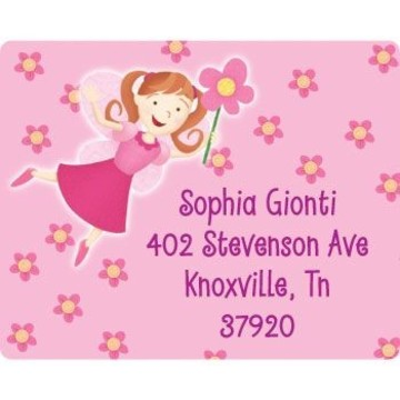Perfectly Pink Personalized Address Labels (sheet of 15)