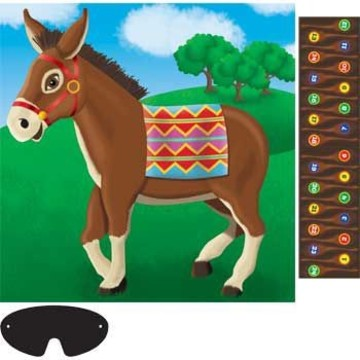 Pin The Tail On The Donkey Game (for 24 Players)