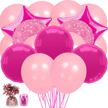 Pink Balloon Bouquet Kit