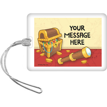 Pirate Friends Personalized Bag Tag (Each)