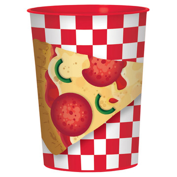 Pizza Party Favor Cup (1)