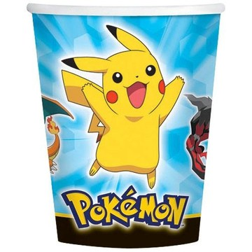 Pokemon 9oz Cups (8 Pack)