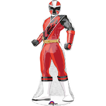 "Power Ranger Ninja Steel 42"" Shaped Balloon (Each)"